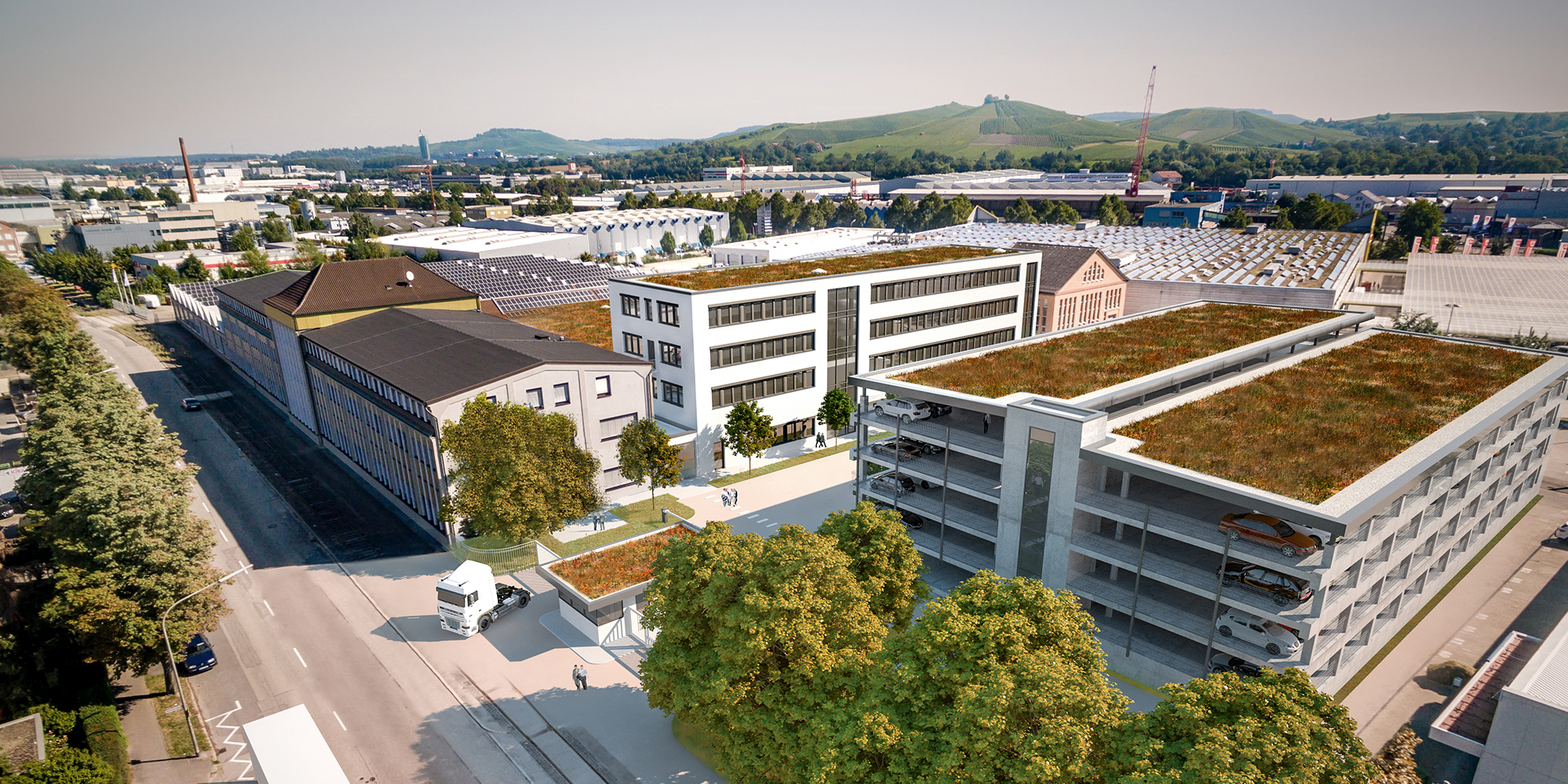 Aurelis Produktionsgebäude |Heilbronn