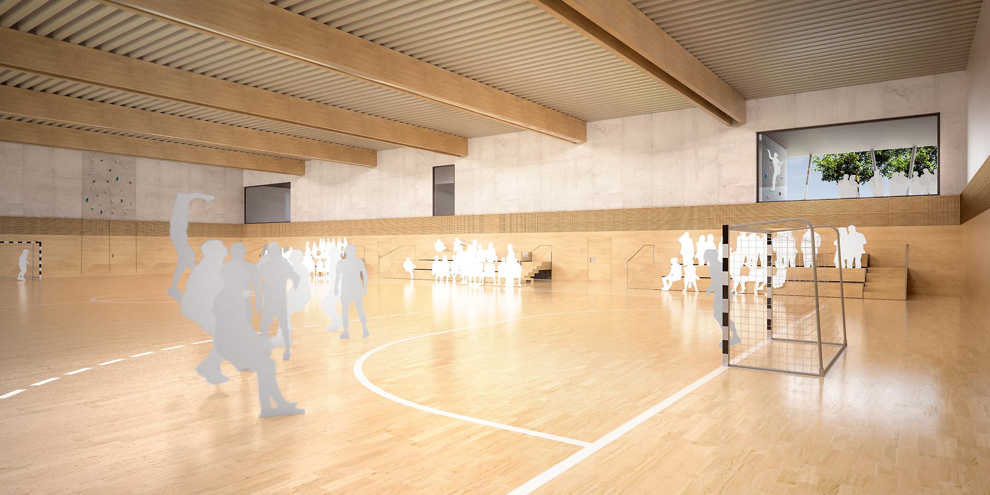Wettbewerb Neubau Dreifachsporthalle | Giebelstadt