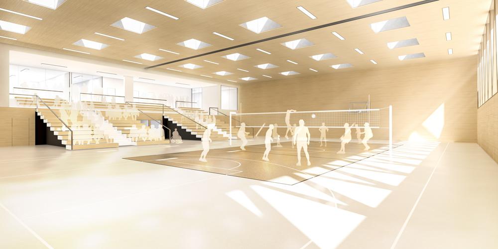 Anerkennung / WB - Zweifeldturnhalle | Niederviehbach
