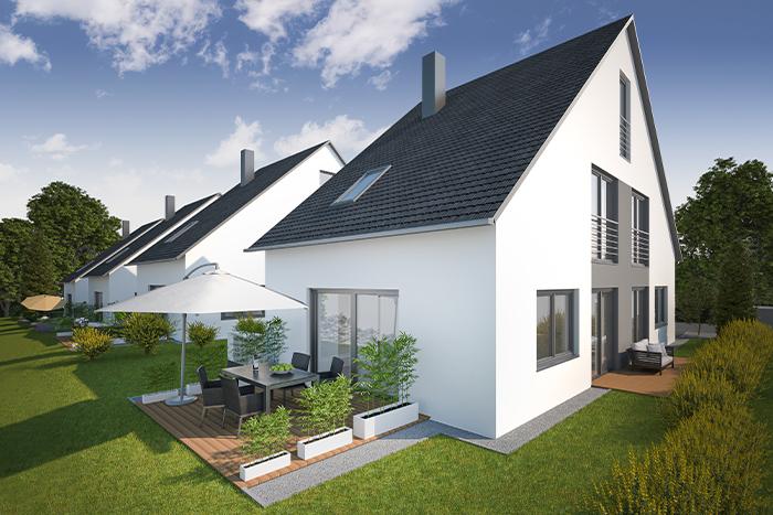 3D Modell und Modellierung Haus